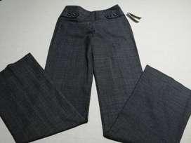 Pantalones para dama tipo oficina nuevos con etiqueta.