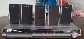 DVD con parlantes Sony para reparar o repuestos
