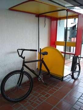 Triciclo para bicitaxi