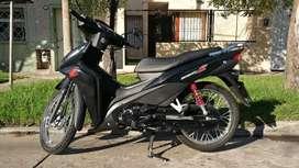 Honda wave 110 s full 2020 negra. Cómo nueva