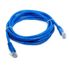 Patch Cord Cat 5e 10ft Azul