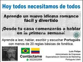 Clases de portugués virtual o presencial