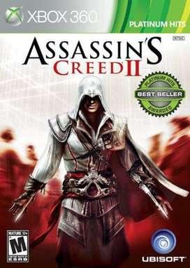 Assassin's Creed II 2 Para Xbox 360 y Xbox One Original Físico. Platinum Hits