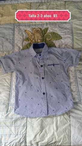 Camisa de Niño Talla 3