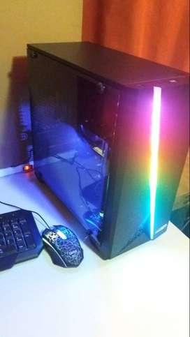 PC Gamer AMD Atlhon 200GE 8GB DDR4 500GB HDD 500w Solarmax