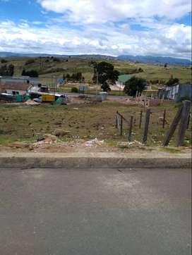 Lote Chivata centro frente al colegio