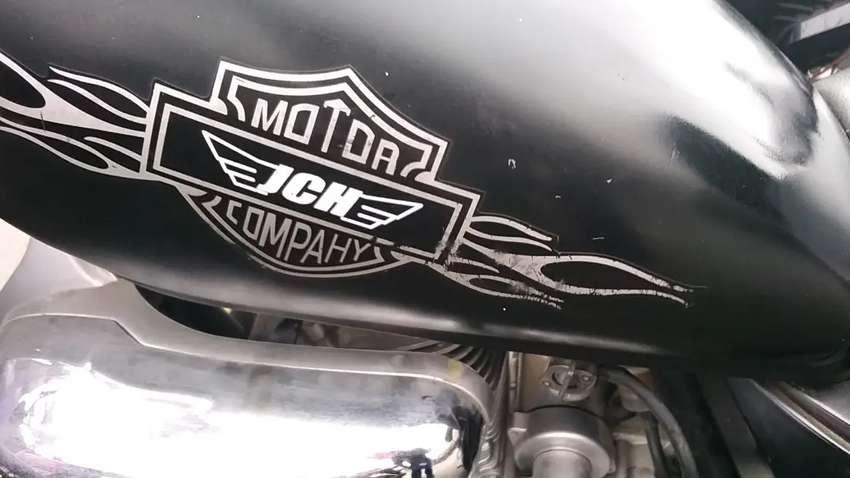 Remato motocicleta chopera jch Warrior 3500 soles
