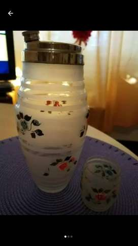 Licorera Antigua 1 Vaso