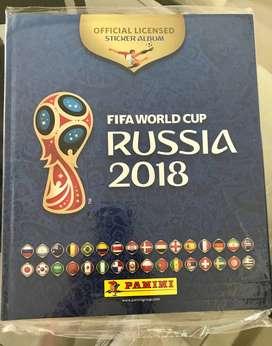 Album TAPA DURA Panini FIFA Russia 2018 ORIGINAL Sellado