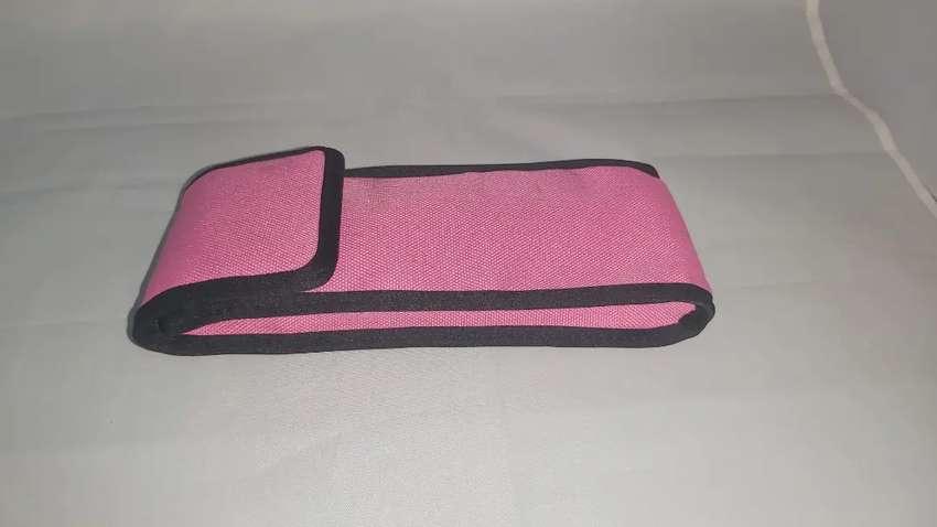 Forro de protección de otoscopio color rosado