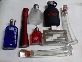 Frascos De Perfumes Vacíos Importados