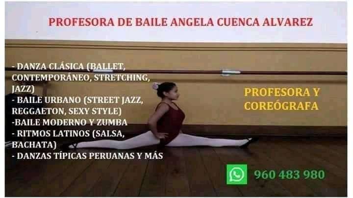 Clases de baile particulares Profesora de baile