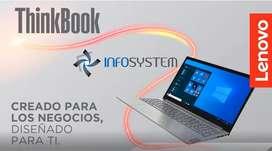 """ULTIMOS DIAS DE PRE VENTA – NOTEBOOK LENOVO ThinkBook 15.6"""" - AHORA 12 y 18"""