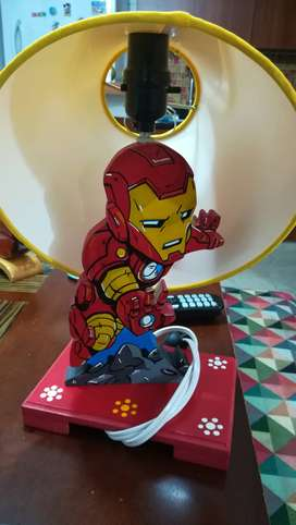 Lampara Niño Iron man