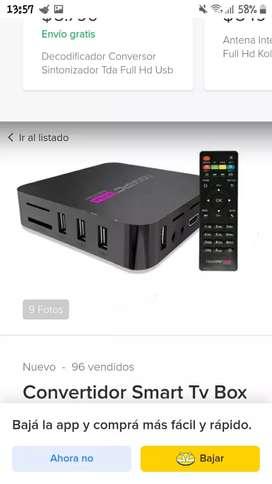 TV box convertidor de smart