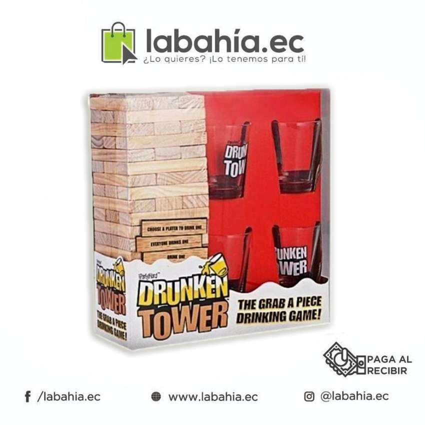 Juego De Mesa Para Beber Jenga Shots Drunken Tower 0