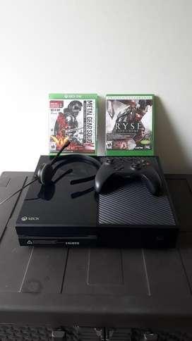 Xbox One 2 Juegos 1 Control 550gb