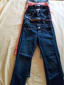 Jeans dd niña