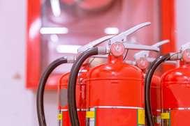 la seguridad de tu negocio es muy importante evita riesgos recarga de extintores