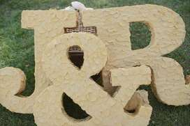 Letras 3D para Casamientos Y Fiestas Grl