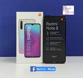 Redmi note 8 64GB nuevo libre caja sellada