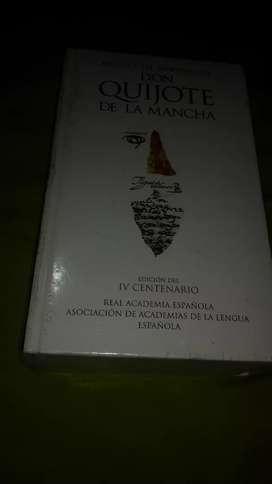 Libro nuevo don Quijote de la mancha edición iv centenario