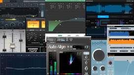 Vendo Plugin Para producción musical.  en todos los formatos 1