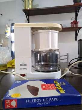 Cafetera de filtro marca ATMA