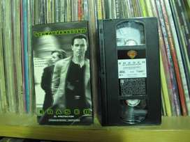 El protector (Eraser) - !996 VHS HI-FI - Arnold Schwarzenegger