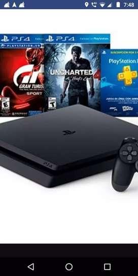 PS4 ULTRASLIM 1TB IGUAL A NUEVA!!