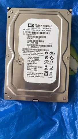 Disco duro 320 Gb y board Asus
