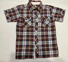 Camisa cuadros