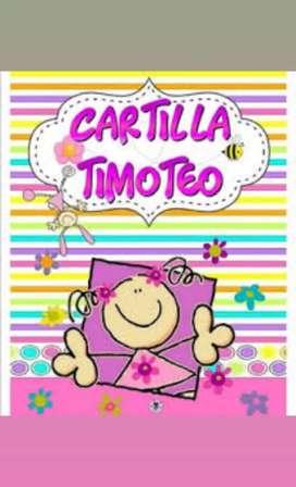 Cartilla Timoteo y lettering