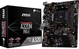 Msi A320m-a Pro Max - Am4 Amd - Micro Atx