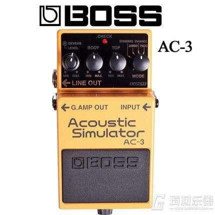 Boss Ac-3 - Pedal Acoustic Simulator Nuevo 0