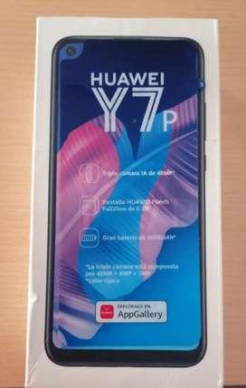 Vendo celular Huawei Y7p