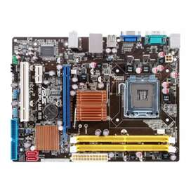 Mother p5kpl+intel pentium dual core+cooler