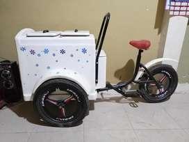 Venta de carrito heladero precio negociable