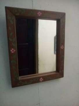 Espejo pequeño artesanal