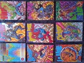 Álbum completo de Pepsi card