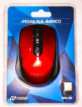 Mouse Inalambrico Noga Ngm358 Wireless