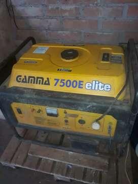 Vendo grupo electrogeno gamma 7500E elite