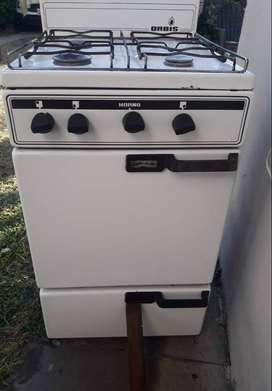 Cocina blanca usada