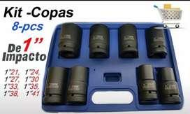 "Copas de impacto x 8 unidades 1"""