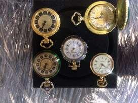 Hermosa Coleccion de Relojes Colgantes, cuerda y cuartz
