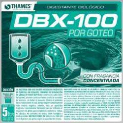 BACTERIA DBX-100 GOTEO  BIDON 5 LITROS CONCENTRADO