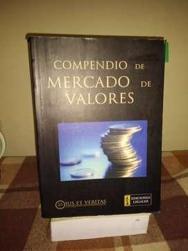 """Libro """"Compendio de Mercado de Valores"""" ius et veritas"""""""