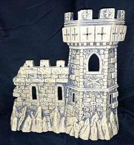 Fondo de castillo medieval plastico mide 27x26cm