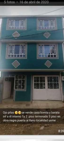 Se vende bonita casa d 3 pisos