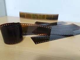Scaneo Película de rollos fotográficos 35mm
